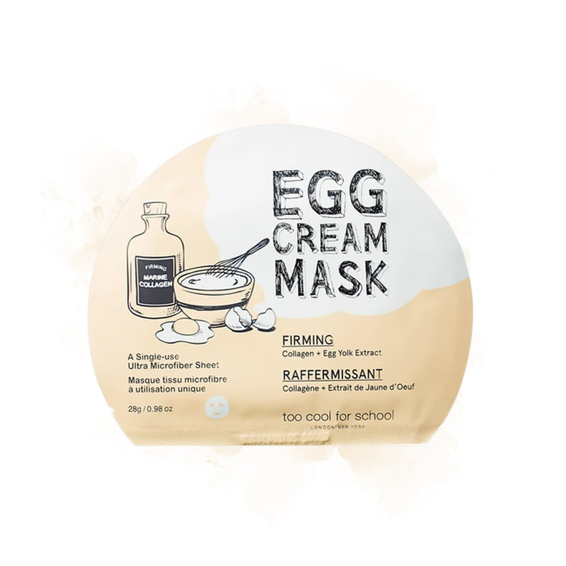 Too Cool For School Egg Cream Mask Firming - Goryeo Cosmetics worldwide shop
