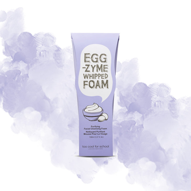 Too Cool For School EGG-ZYME Whipped Foam Cleanser - Goryeo Cosmetics worldwide shop