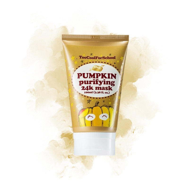 Too Cool For School Pumpkin Purifying Peel-Off 24K Mask - Goryeo Cosmetics worldwide shop