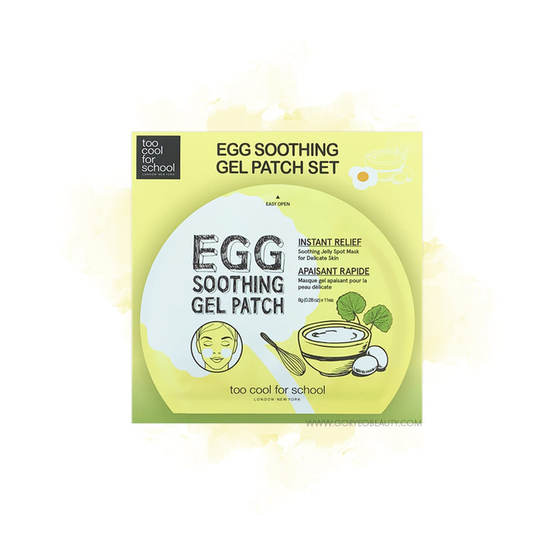 too cool for school Egg Soothing Gel Patch - Goryeo Cosmetics worldwide shop