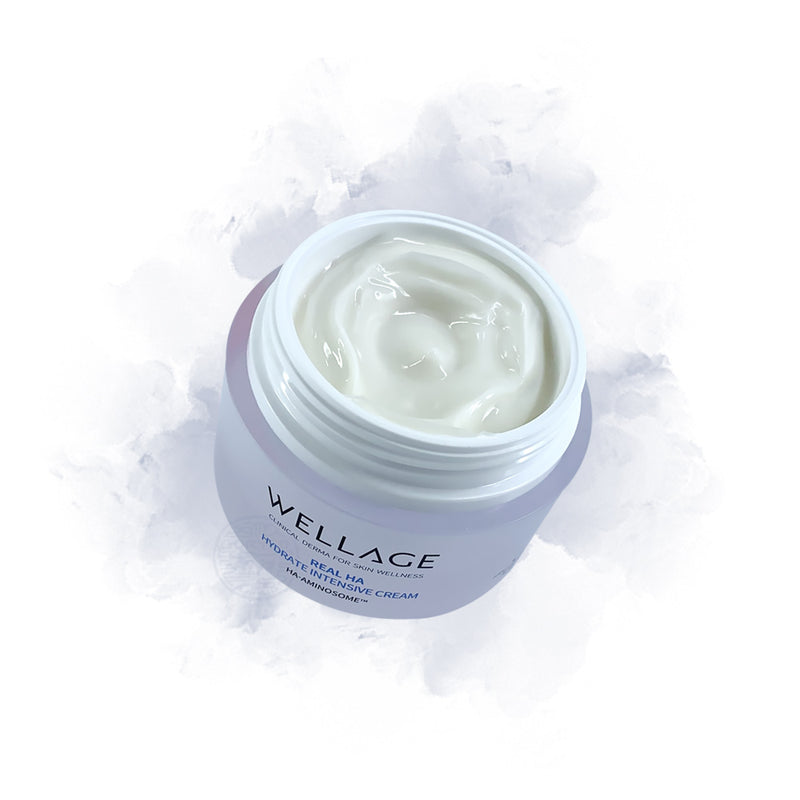 WELLAGE Real HA Hydrate Intensive Cream - Goryeo Cosmetics worldwide shop