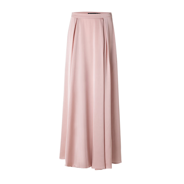 Kashmiri Pink Satin Skirt