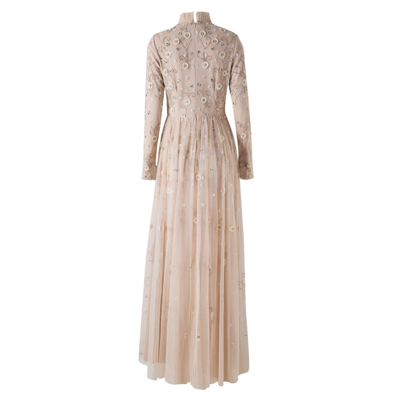 Nude Surayah Gown