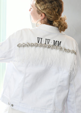 Custom Embroidered Denim Jacket