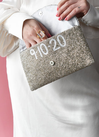 Personalized Envelope Clutch