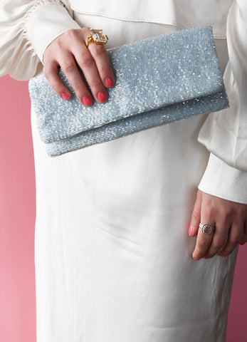 Classic Fold Over Clutch