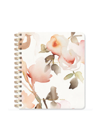 Floral Non-Dated Weekly Planner
