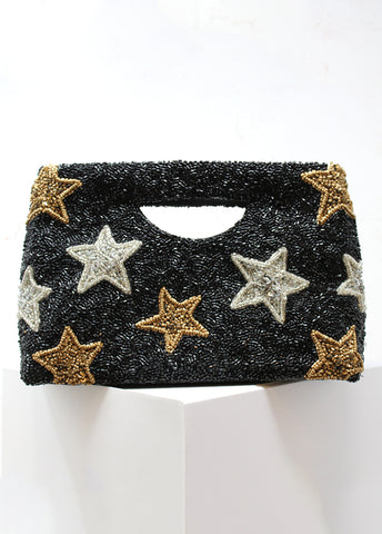 Star Cut Out Handle Clutch