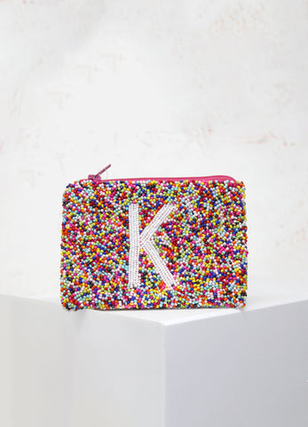 Confetti Initial Coin Purse