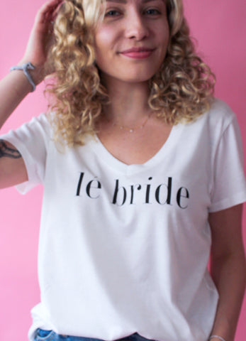 Lé Bride Graphic Tee