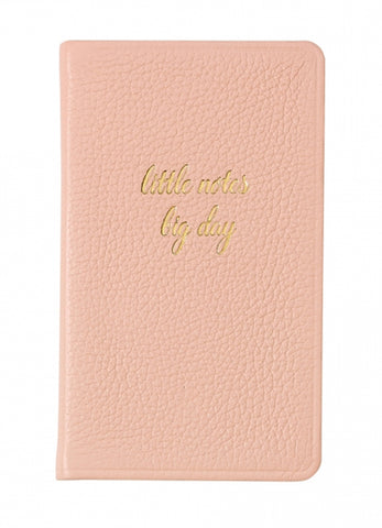 Bridal Leather Notebook