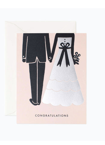 Congratulations Bride & Groom Card