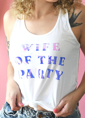 Wife of the Party Graphic Tank