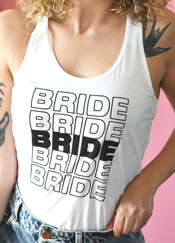 Thank You Bride Graphic Tank
