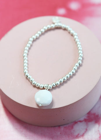 Cloud Bead Bracelet