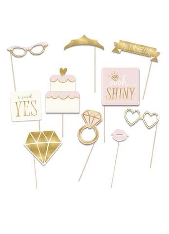Bride to Be Photobooth Props