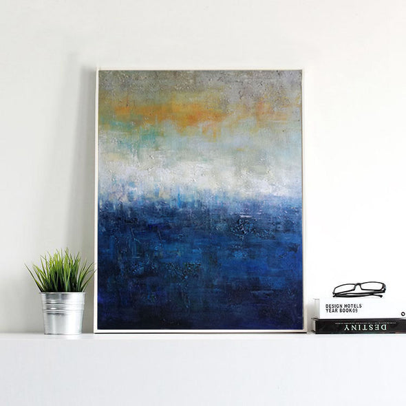 huge canvas painting