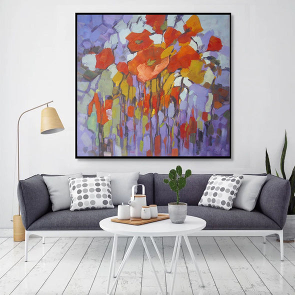 colourful abstract art paintings