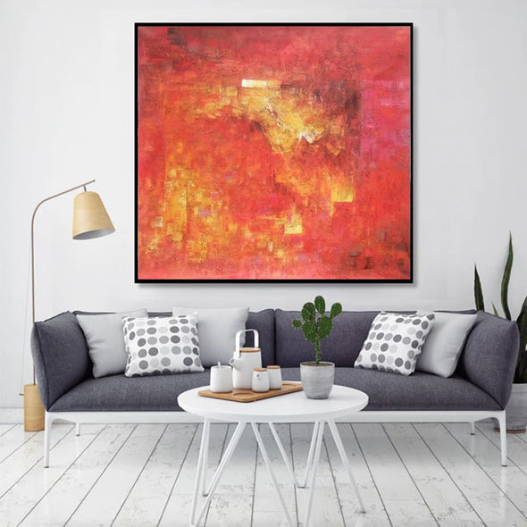 oil abstract art on canvas