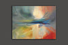 paint abstract art canvas
