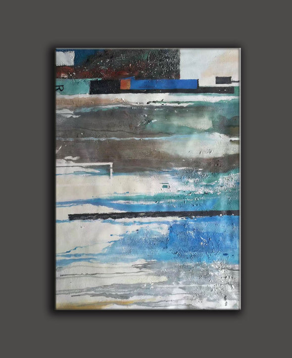 painting on canvas abstract