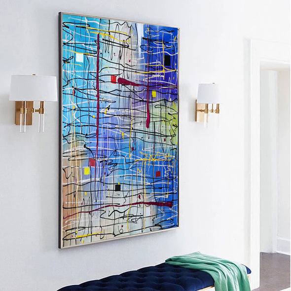 large modern art paintings