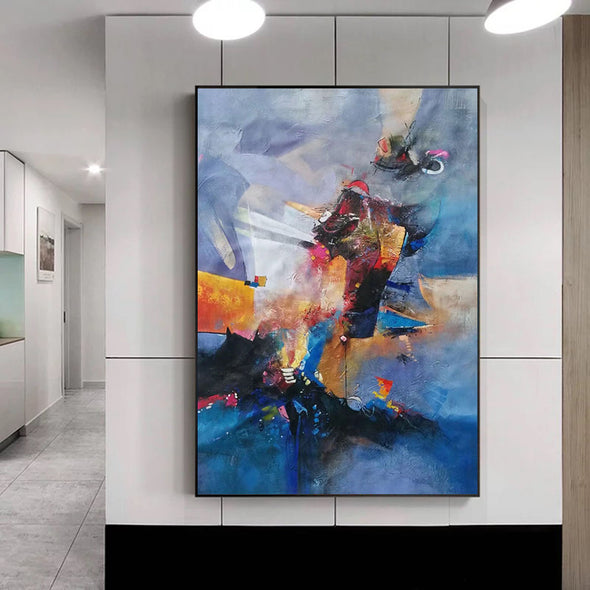 large abstract artwork