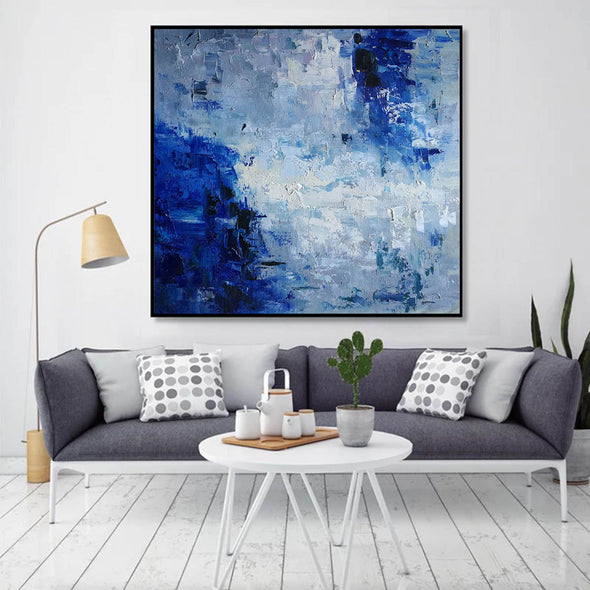 oil painting on canvas abstract
