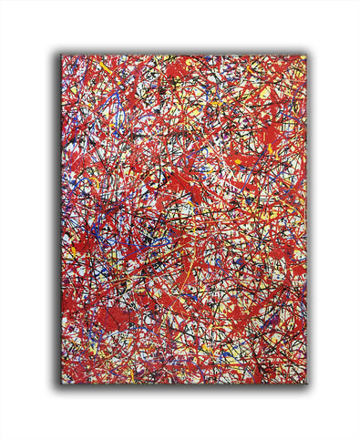 splatter abstract art