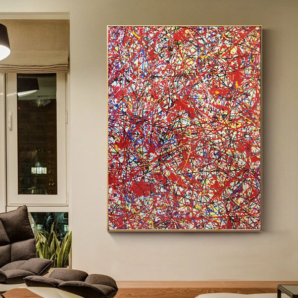 splatter painting art worth