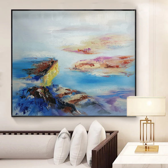 large contemporary wall art
