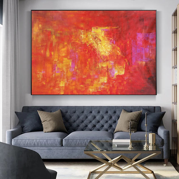 abstract modern paintings on canvas