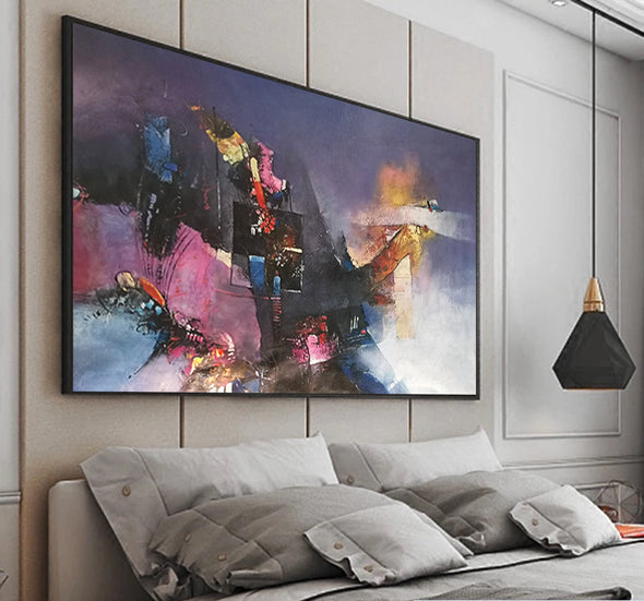 large canvas abstract art for sale