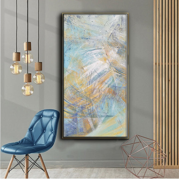 contemporary abstract acrylic paintings