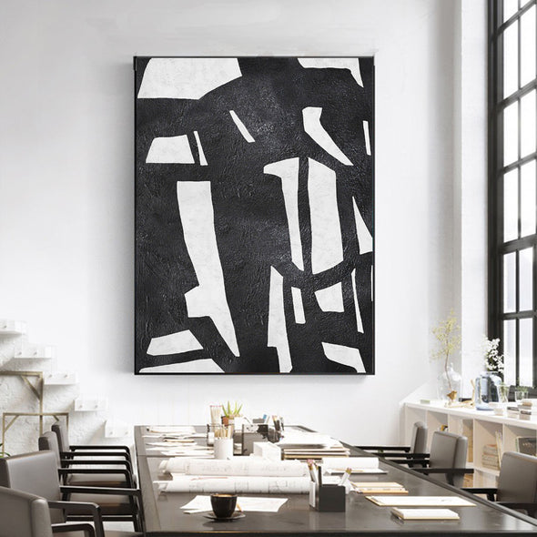 black and white canvas art