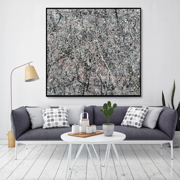 splatter painting reproduction