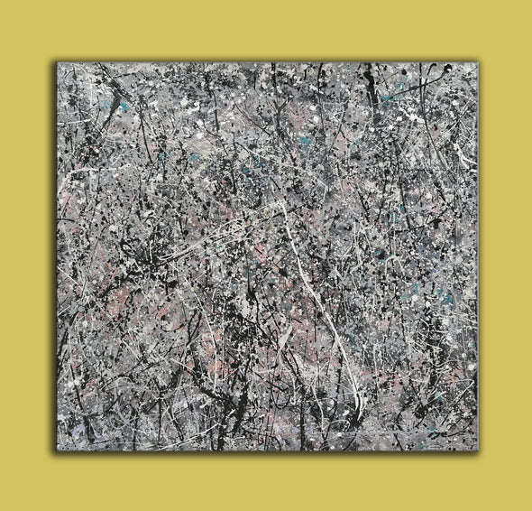 jackson pollock style paintings for sale
