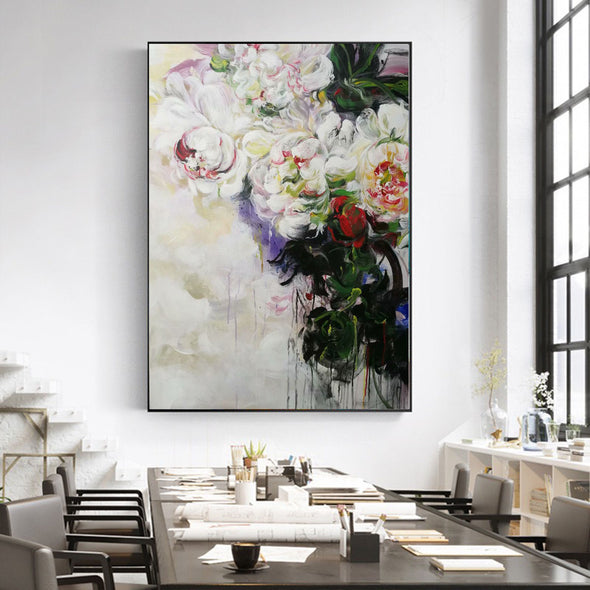flower abstract oil painting gallery
