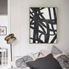 abstract oil canvas art