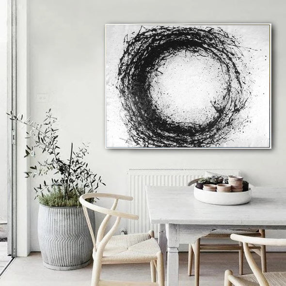large stretched canvas artwork