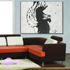 black white art paintings
