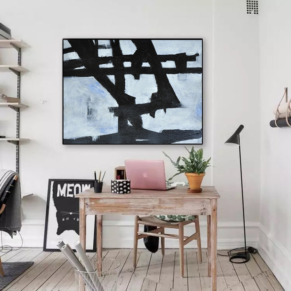 large contemporary canvas
