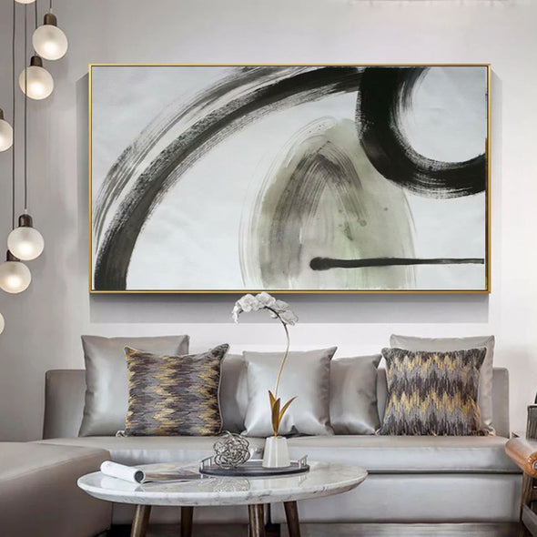 oil painting on canvas