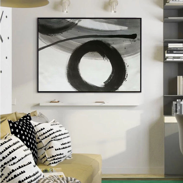 black and white prints for living room