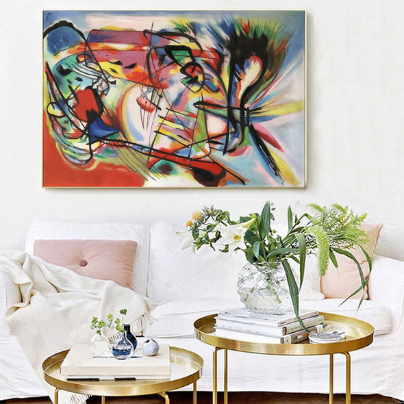 abstract art oil paintings for sale