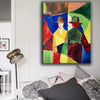 oil painting modern abstract art