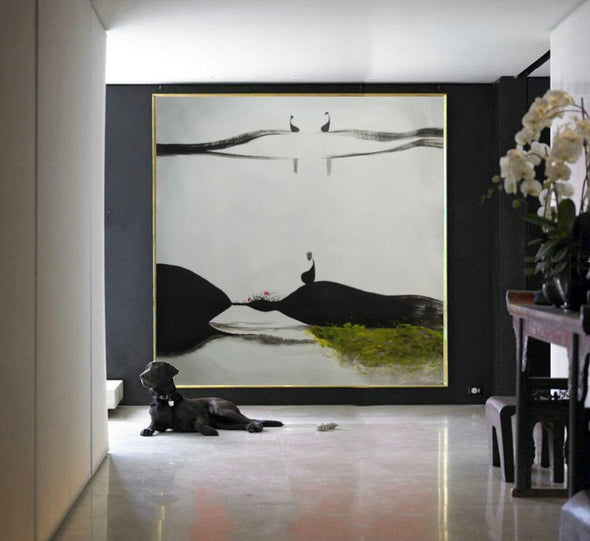 oversized oil paintings