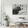 black white wall decor
