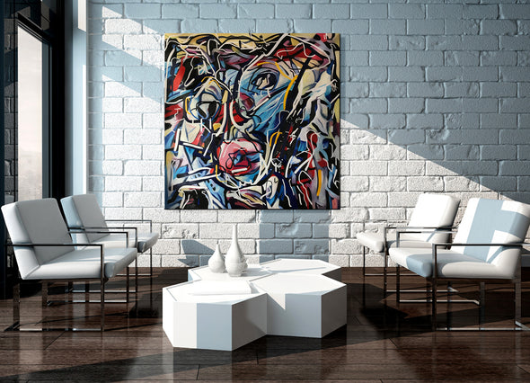 modern art paintings on canvas