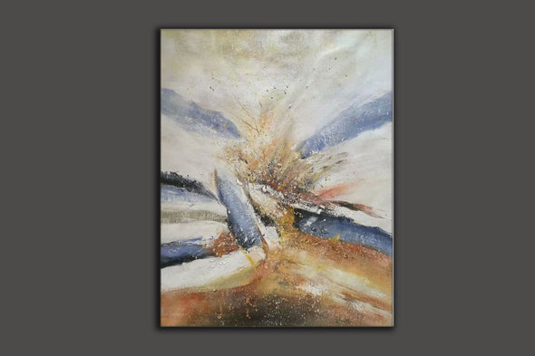 large abstract paintings on canvas